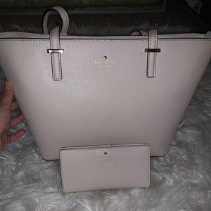 Kate Spade Tote Bag & Wallet